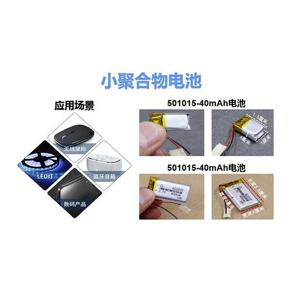小聚合物电池